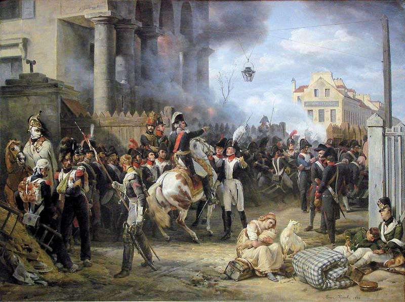 Битва за Париж. 200 лет назад русские войска вошли в Париж