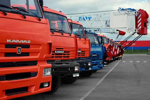 I camion sequestrati in Ucraina sono stati restituiti a KAMAZ