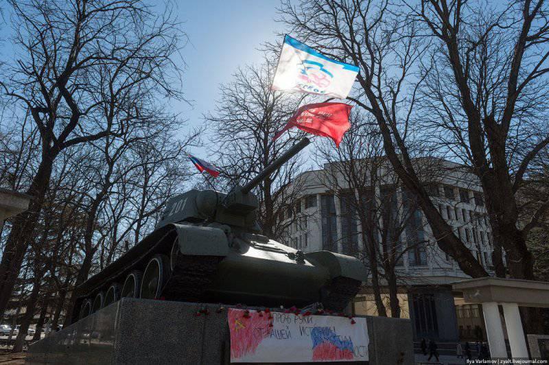 Ситуация в Крыму, часть 1