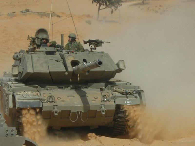 Израильские танки семейства Magach