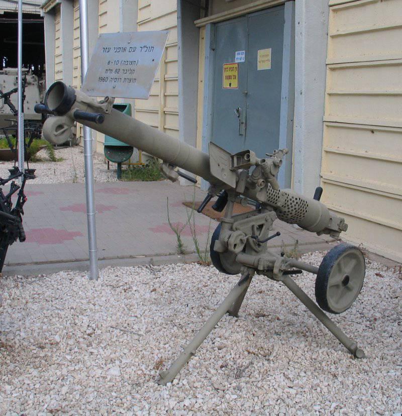 Артиллерия. Советские безоткатки