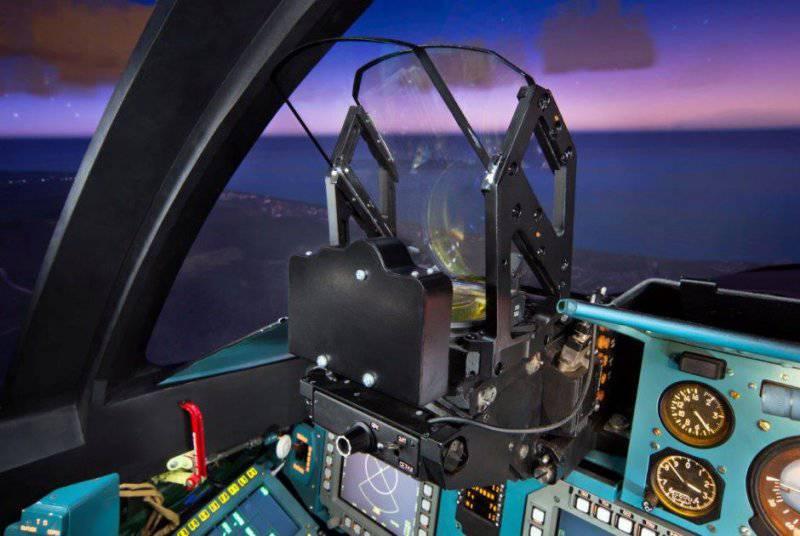 Виртуальное бомбометаниею Как выглядит тренажер фронтового бомбардировщика Су-34