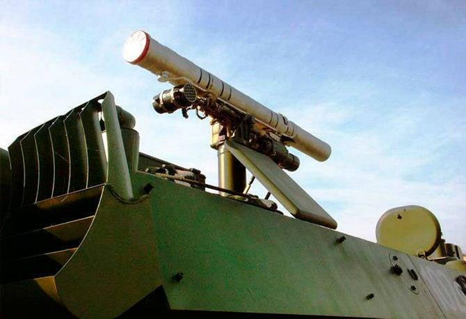 """Système de missile antichar """"Sturm-SM"""""""