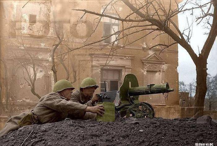 Великая Отечественная Война в цвете