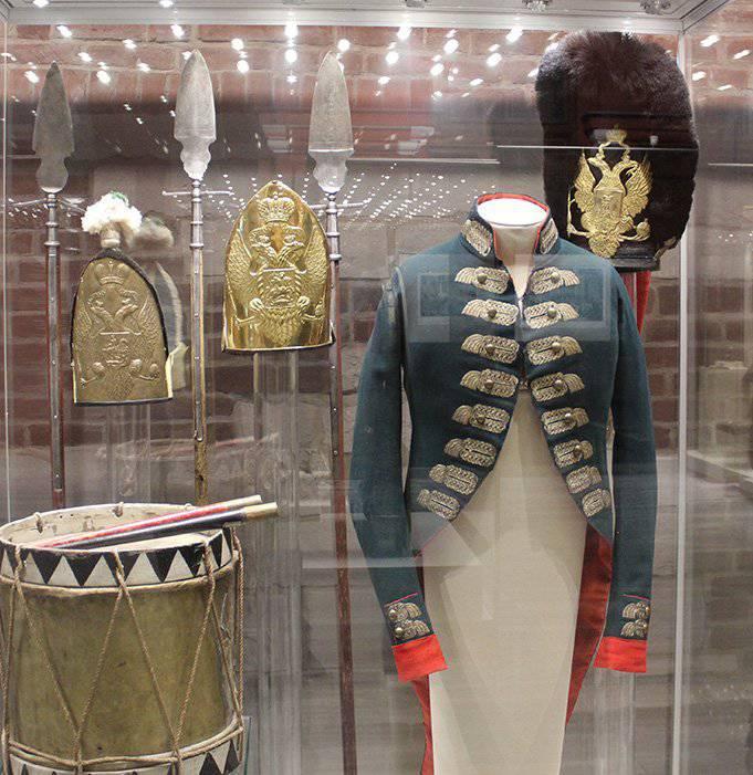 Alcune esposizioni del Museum of World War 1812