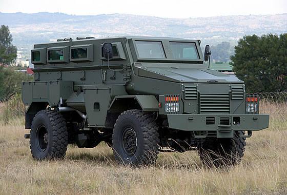 OTT Technology已向马里的联合国维和部队交付了第一批M36装甲车Puma
