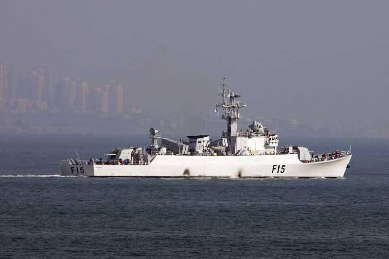 バングラデシュ海軍は2元中国のフリゲート艦を受け取った