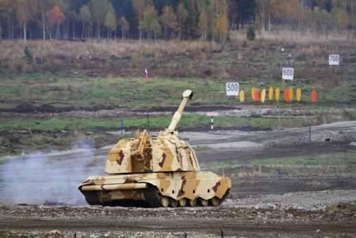 Новейшие САУ 2С19М2 впервые пройдут по Красной площади