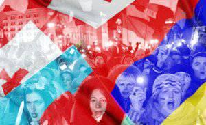 Transcaucasiaでのウクライナのイベントと恐怖症