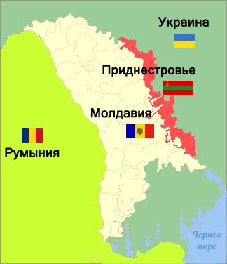 """O bloqueio da Transnístria: como as mãos ocidentais da Moldávia e da Ucrânia """"organizam reservas no centro da Europa"""""""