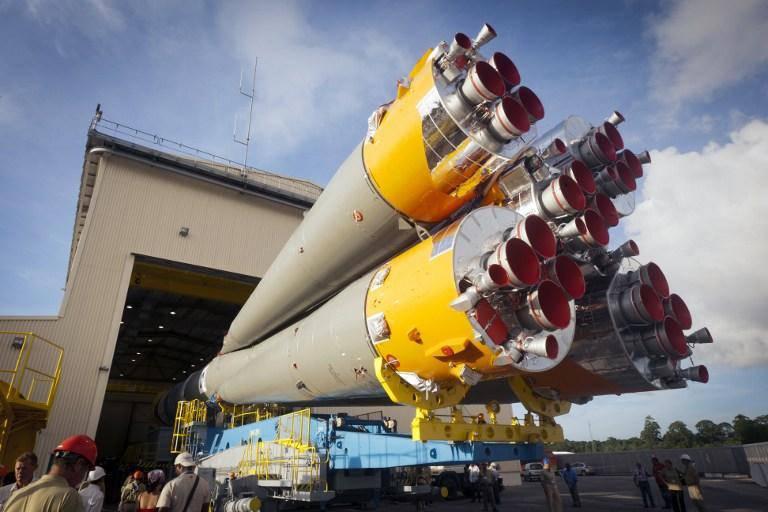 """एरियनस्पेस और रोस्कोस्मोस ने $ 400 मिलियन में सात रूसी """"यूनियनों"""" की आपूर्ति के लिए एक अनुबंध पर हस्ताक्षर किए हैं"""