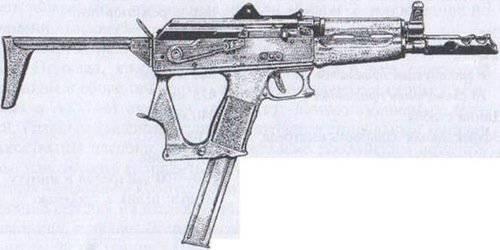 チーター実験用短機関銃