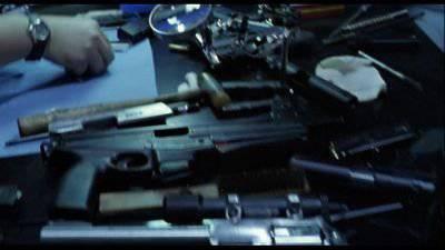 Финский пистолет-пулемёт JaTiMatic