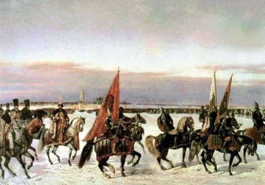 ロシア - ポーランド戦争の始まり1654  -  1667 2の一部