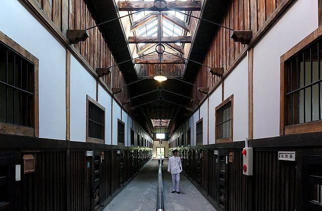Gefängnis und Zwangsarbeit in Hokkaido