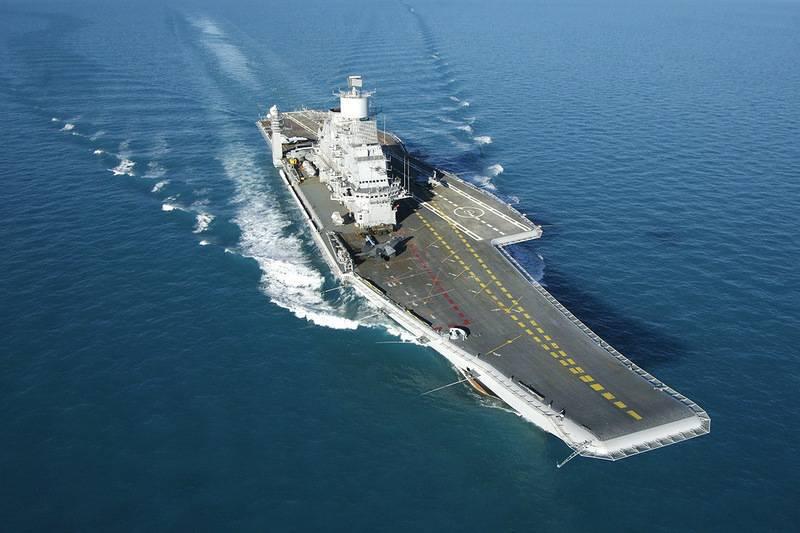 Medya: Hindistan, Rus Vikramadityi uçaksavar kompleksini terk etti