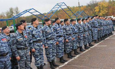 """Moscow riot police began to hire fighters Ukrainian """"Golden Eagle"""""""