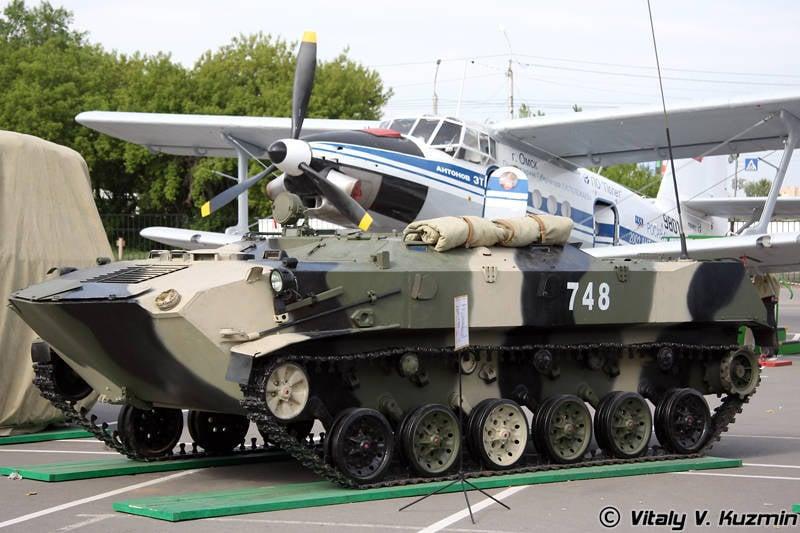 Armement des transports de troupes blindés nationaux