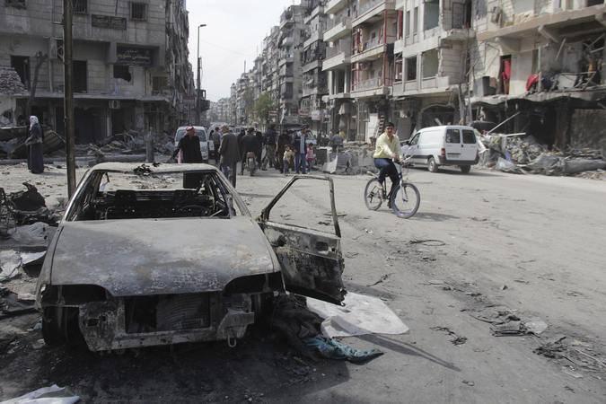 Militantes de 40 muertos en explosión en el oeste de Siria