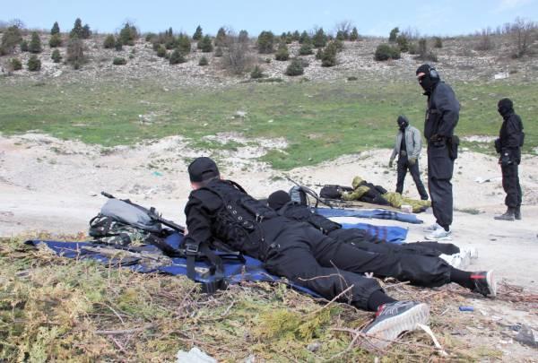 В Крыму начались тренировки морского пограничного спецназа