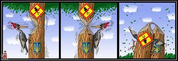 Ukrovlast hat Lebensmittelselbstmord der Ukraine vorbereitet