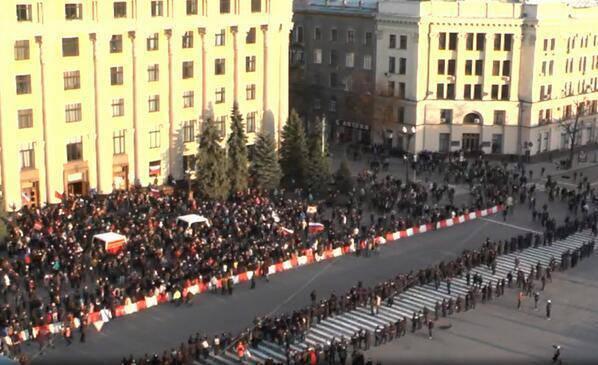 A Kharkov, dopo Donetsk, è stata proclamata la Repubblica popolare