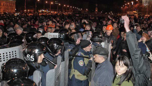 Sans tenir compte des nuances locales: une opération spéciale du ministère de l'Intérieur a commencé à Kharkov