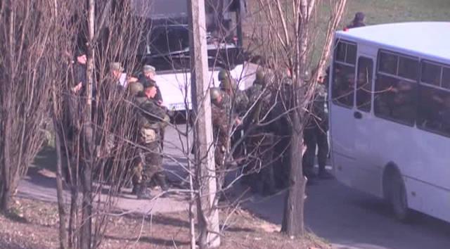 キエフは外国の傭兵を辞任