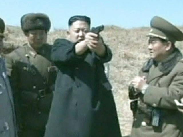 Media: Kim Jong-un burned from a high-ranking official flamethrower