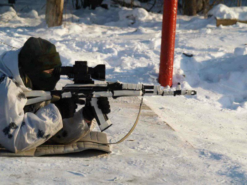 소형 무기를위한 현대 러시아 명소