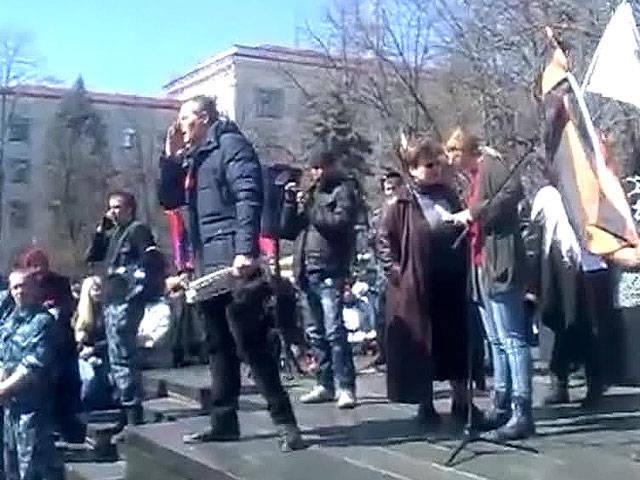 在卢甘斯克占领SBU大楼的活动人士发表了一份宣言