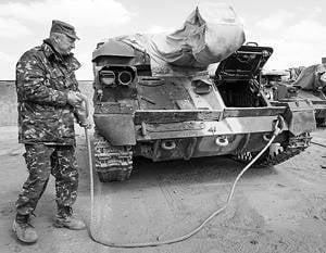 Rússia informou sobre a transferência para a Ucrânia do equipamento militar da Criméia
