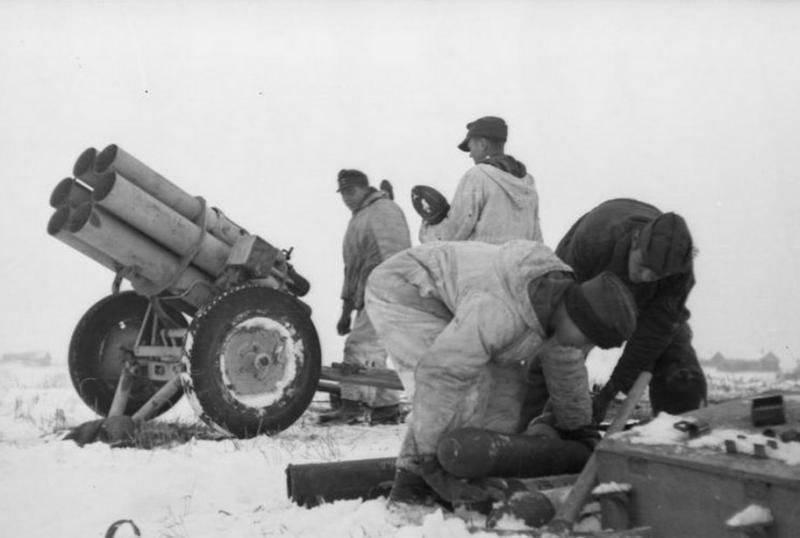 Deutsche Raketenartillerie während des Krieges. Teil 1