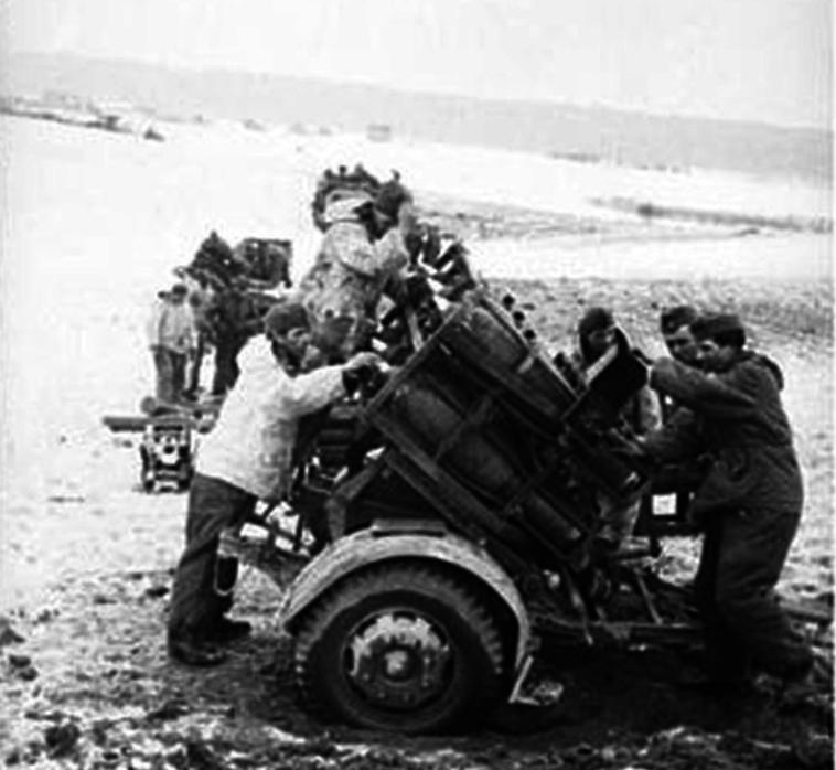 Artillería de cohetes alemana durante la guerra. Parte 2