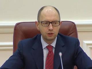 Yatsenyuk: il Parlamento dovrebbe approvare una legge sul referendum locale