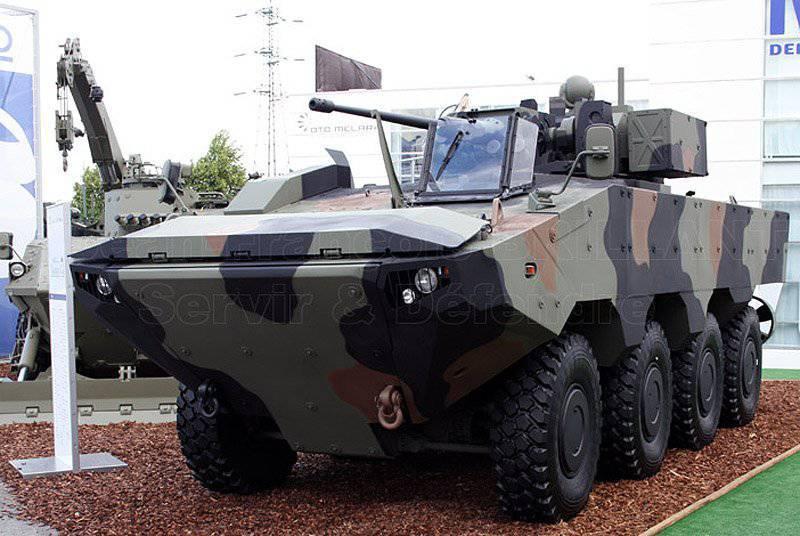 장갑 운송 업체 및 보병 전투 차량 개요 (1의 일부)