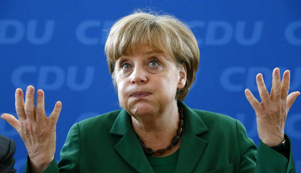 """Меркель продолжает отрицать возможность поставок оружия Украине: """"Мы сконцентрированы на дипломатическом решении"""" - Цензор.НЕТ 750"""