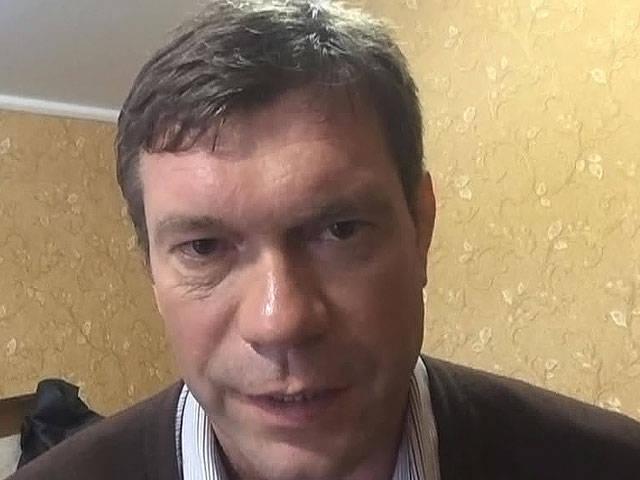 Oleg Tsarev: la gente en el este de Ucrania es desesperada