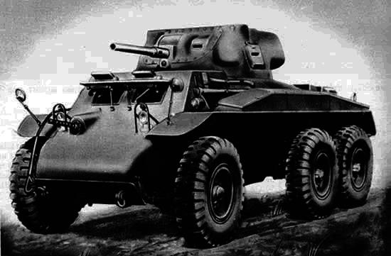 装甲T17およびT17E1(アメリカ)。 似た名前と違う運命