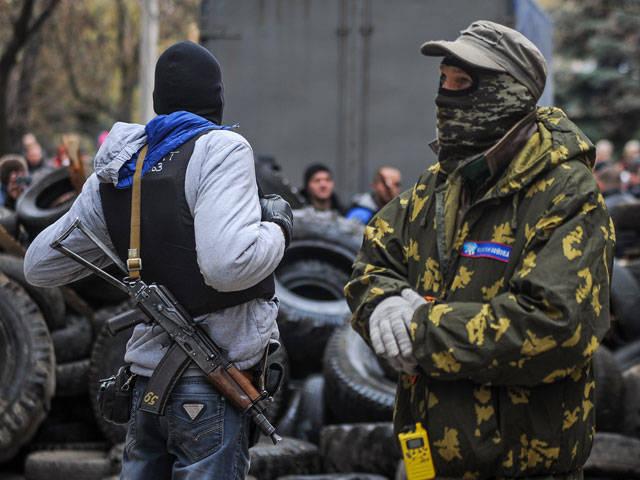 Todas as novas barricadas crescem na região de Donetsk
