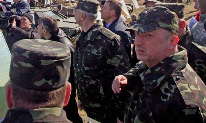 """""""La guerre de Turchinov."""" Ucraine est terminée"""