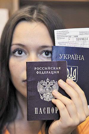 """""""Rus haritası"""". Yeni vatandaşlık yasa tasarısında değiştirilmesi gereken, böylece zarar vermeyecek,"""