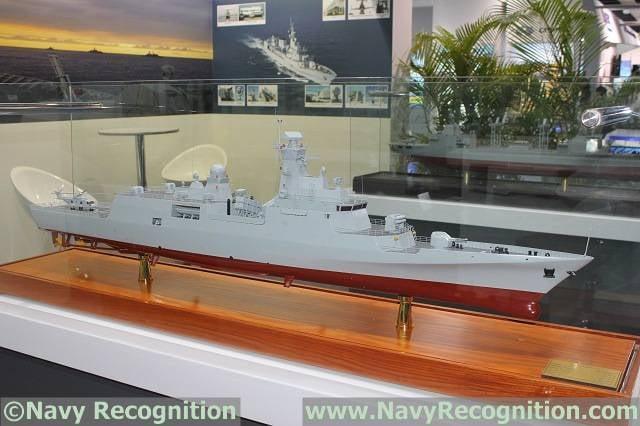 中国护卫舰为阿尔及利亚