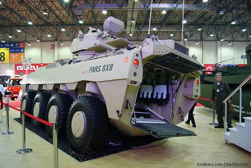 Vue d'ensemble des transporteurs blindés et des véhicules de combat d'infanterie (partie de 4)