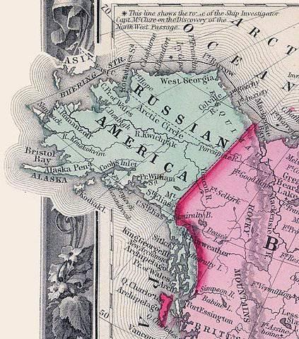 Sulla strada per vendere l'America russa: la convention 1824 dell'anno