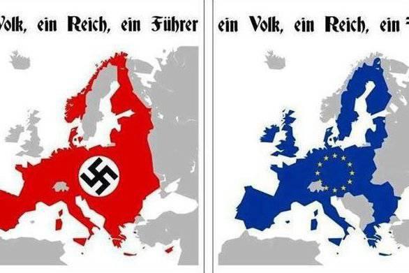La integración de Europa se ha vuelto similar a los planes de Hitler.