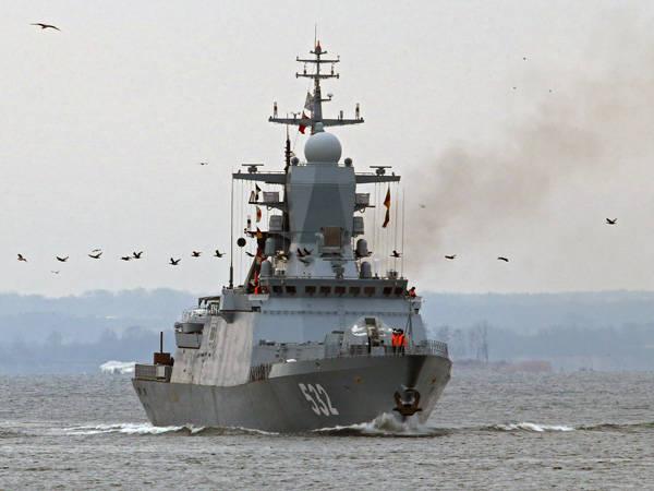 Os mais novos navios da Marinha vão para os ensinamentos