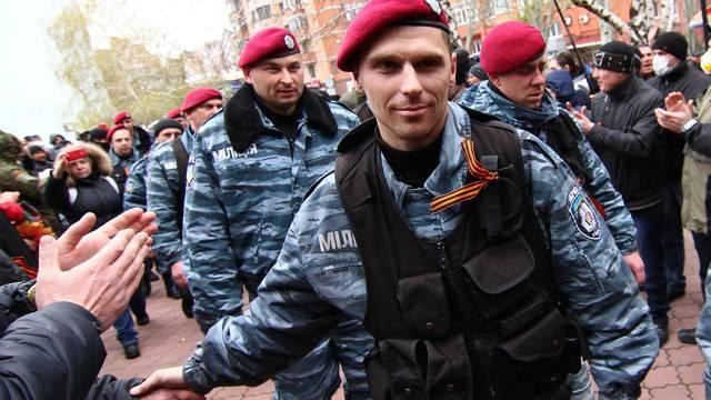 """""""Berkut"""" déploie ses ailes en Ukraine"""