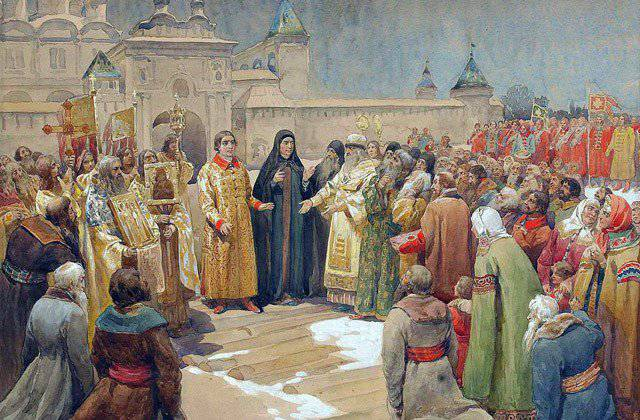 As the Cossacks elected the king