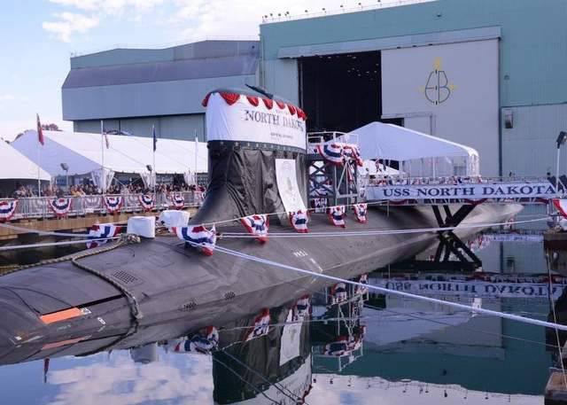 La retirada de las existencias del nuevo submarino de la flota estadounidense de Dakota del Norte se retrasa